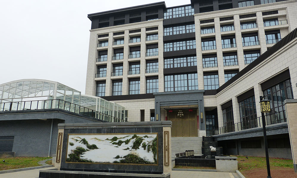 Überdachungen für öffentliche Einrichtungen - Hotel, China