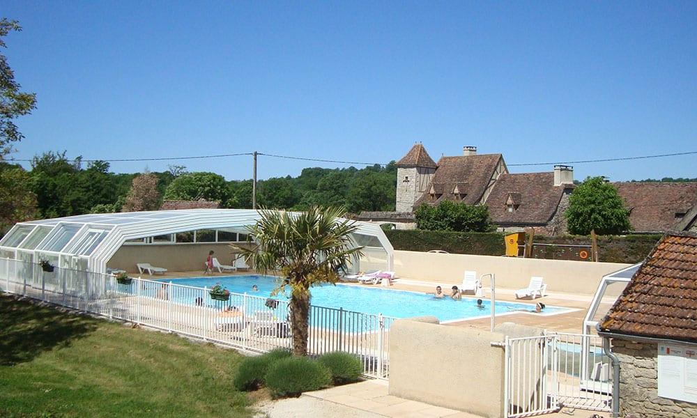 Überdachungen für öffentliche Einrichtungen - Camping Le Ventoulou, Frankreich